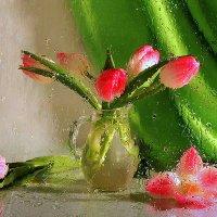 Краски весны.Этюд с тюльпанами :: Павлова Татьяна Павлова