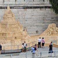 Строения из песка :: Валерий Подорожный