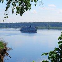 Волга в Мышкине :: aleksandr Крылов