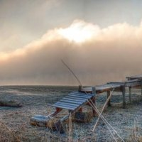 Island on the river :: Максим Миронов