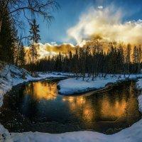 Закат и река. :: Sven Rok