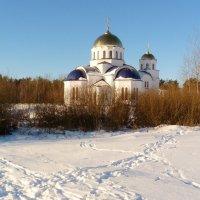 Храм зимним утром :: Александр Прокудин