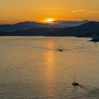 закатное море :: Константин Шабалин