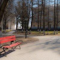 Красная скамейка :: Андрей Зайцев