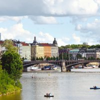 Виды Праги. Городской пейзаж :: Николай Ярёменко