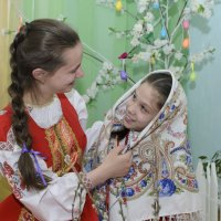 Сестре на Пасху подарю платок! :: Ольга Русакова