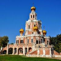 Покровская церковь в Филях 1690 год :: Анатолий Колосов