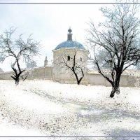 Зима на Свенском монастыре :: Дубовцев Евгений
