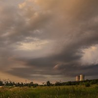 Летний вечер у рыбхоза 2015г :: Юрий Клишин
