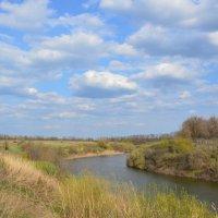 Весенние виды. река Сал. :: Виктор ЖИГУЛИН.