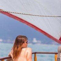 Прогулка на яхте :: Виктория