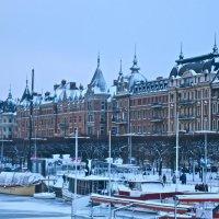зимняя графика Стокгольма :: Елена