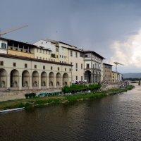 Дождь на реке Арно :: Ольга