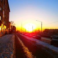 Весенний закат :: Юрий Николаев