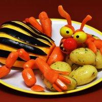 Люблю картошечку я очень!!! Её я ем с утра до ночи!!! :: Лара Гамильтон