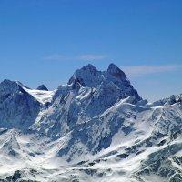 Горе-гора, красавица Ушба :: Ася Зайцева