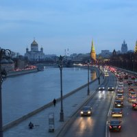 Вечерняя Москва. :: Larisa Gavlovskaya