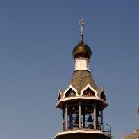 Колокольня храма в честь Богоявления Господня. :: Мила Бовкун