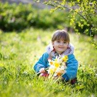На полянке в солнечный день :: Елизавета Тимохина