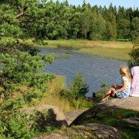 Гляжу в озера синие. :: Tatyana