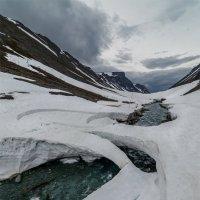 Снежно-ледяные мосты :: Альберт Беляев