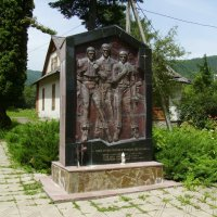 Памятник   воинам - афганцам  в   Яремче :: Андрей  Васильевич Коляскин
