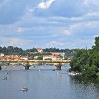 Влтава-река, Прага :: Елена