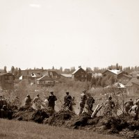 В атаку пошла пехота... (реконструкция). :: Владимир Болдырев