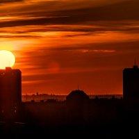 Закаты в Астрахани :: Василий Дудин