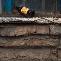 Пустая бутылка, арматура, кирпичи :: Павел Кореньков