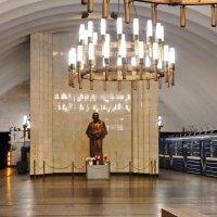 """Станция метро """"Черная речка"""", подземный зал :: Елена Гуляева (mashagulena)"""