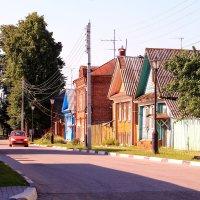Летним утром на Городецких улочках :: Татьяна Ломтева