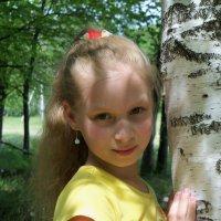 В тени берёзы :: Светлана Сейбянова