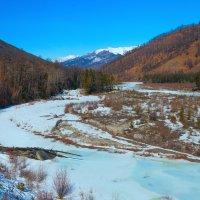 Долина замёрзшей реки :: Анатолий Иргл