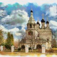 Храм преподобного Сергия Радонежского в селе Комягино :: ALISA LISA