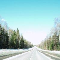 Дорога в облака :: Виктория Большагина