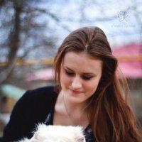 Собака - друг человека :: Каролина Савельева