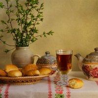 Про пирожки и чай.) :: Галина
