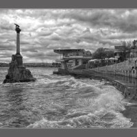 Графика шторма :: Игорь Кузьмин