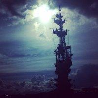 Уплывающий памятник :: Ирина Бруй