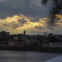 Красивый закат :: Александр Сальтевский