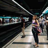 Барселона,метро! :: Максим Жидков