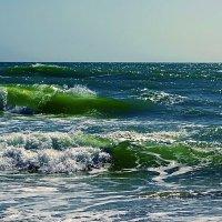 изумрудная волна :: Александр Корчемный
