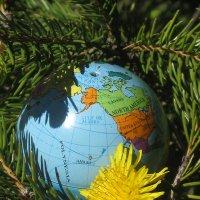 Весна: земной шар превращается в одуванчики и хочет летать по свету красивее... :: Алекс Аро Аро