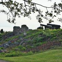 Остатки крепостной стены, обращенной к заливу Лумпарн :: Елена Павлова (Смолова)