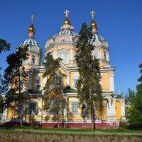 Святовознесенский кафедральный собор Алма-Аты. :: Anna Gornostayeva
