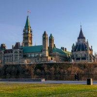 Парламентский комплекс и библиотека парламента (Оттава, Канада) :: Юрий Поляков