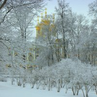 Екатерининский дворец в Пушкине :: Наталья