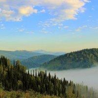 Ползёт по долине туман :: Сергей Чиняев