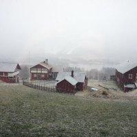 Гейло.  Утро. Туман. Вид из окна через 30 минут :: Елена Павлова (Смолова)